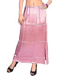 Louis Fashion Lycra Satin Fabric Women Petticoat (AGSPL-3134-VIY-PC)
