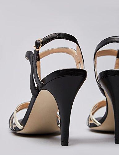 Trovare Sandali Da Donna Con Tacco Medio Neri