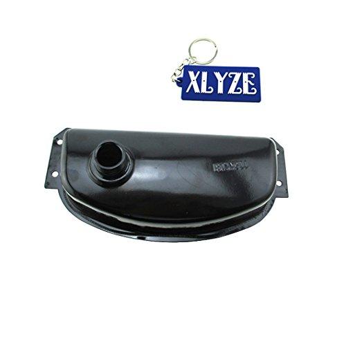 xlyze Metall für 110cc chinesische Go Kart Dune Buggy Kraftstoff Gas Tank Kandi SunL ROKETA 110GKT 45FM5