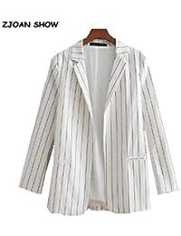 Pantalon Ghxxfdp Mujer Ropa Abrigo De Es Amazon Blanco 0vmnN8wO