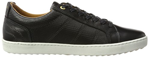 Pantofola d'Oro Herren Canaverse Uomo Low Sneaker Schwarz (Black)