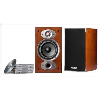 Polk Audio RTi A1 Enceinte étagère 2 x 125 W Habillage merisier véritable Paire