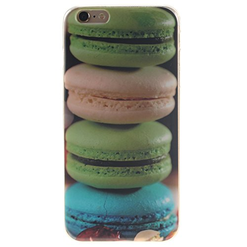 "Coque iPhone 6s, MOONCASE iPhone 6 Slim Coque Housse Etui Silicone Parfait Soft TPU Back Case Cover pour iPhone 6 (2014) / 6s (2015) 4.7"" - TX01 Fleurs Series - TX07"
