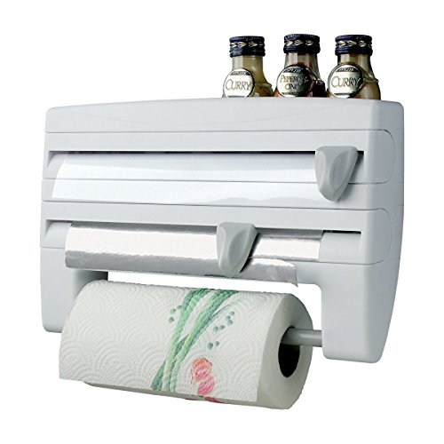House of Quirk Kitchen Roll Paper & Foil Dispenser