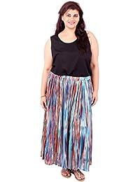 Multicolor Cotton Tutu Skirt_LIBO720