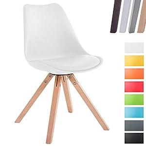 Stuhl Weiß Holzbeine Deine Wohnideende