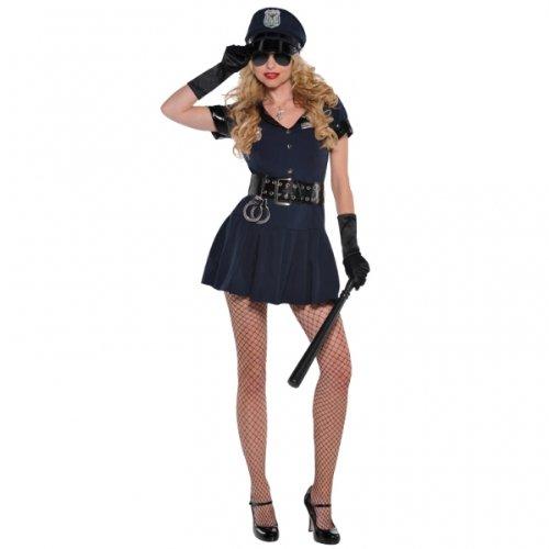 Amscan Erwachsene Officer Rita dem-Rechte Polizei Kostüm Größe 10-12996186 (Polizei Officer Kostüm Für Erwachsene)