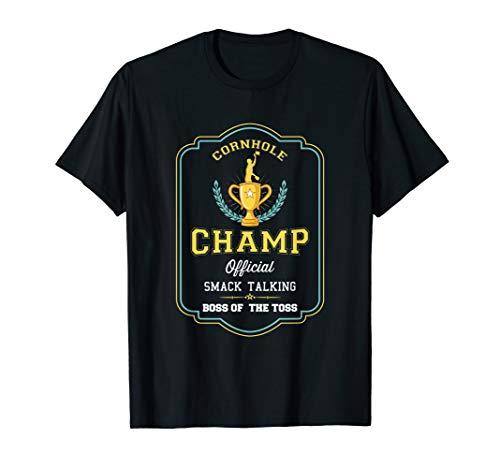 Funny Cornhole Champ Player Boss Toss Säckchen