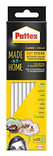 Pattex Made at Home Hot Sticks Heißklebesticks, 1 mal 200 g Stück, PMHHS