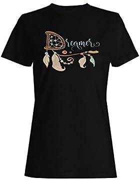 Soñador camiseta de las mujeres j654f