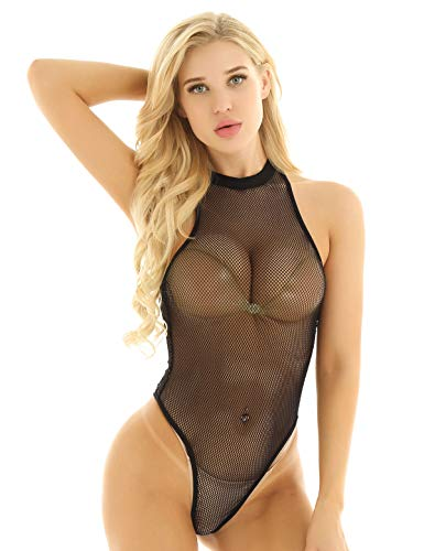 Iiniim Body Mujer Sexy Ropa Interior Transparente