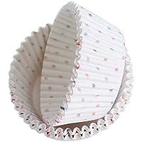 Koala Superstore Pastel de Papel para Hornear Tazas 200 Piezas Pastel de Papel pequeñas Tazas de Magdalena Liners,C
