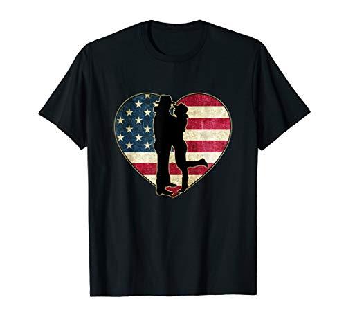 Linedance Love Country Rock Motiv T-Shirt