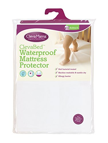 Clevamama-Waterproof-Fitted-Brushed-Cotton-Mattress-Protector-Cot-Bed-70×140-cm