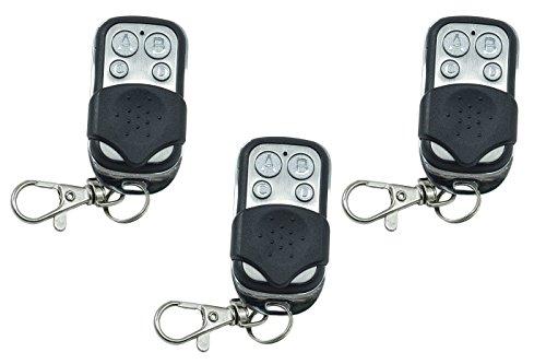 3 mandos a distancia universales Cancela automático Frecuencia 433,92 MHz Código fijo