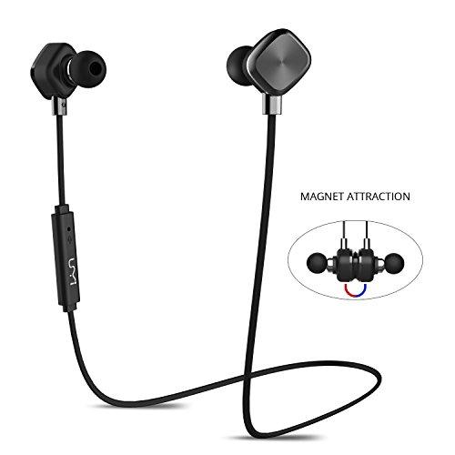 UMIDIGI Bluetooth Kopfhörer, wireless Kopfhörer Stereo In Ear Ohrhörer mit Magnet, Bluetooth 4.1, 8-Stunden-Spielzeit, IPX6 Spritzwasserfest, Kabellose Headset mit Mikrofon für iPhone iPad Samsung Galaxy Note und Android Handy