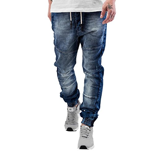 Just Rhyse Homme Jeans / Jeans Straight Fit Jog Bleu