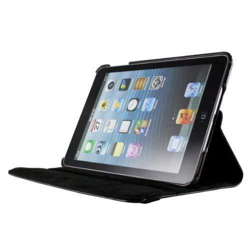 """Shoppers Point 360 Degree Rotating Protective Amor for Apple iPad Mini1/Mini2/Mini3 7.9"""" 2nd Gen (Black)"""