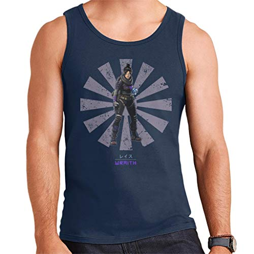Apex Legends Wraith Retro Japanese Men's Vest -