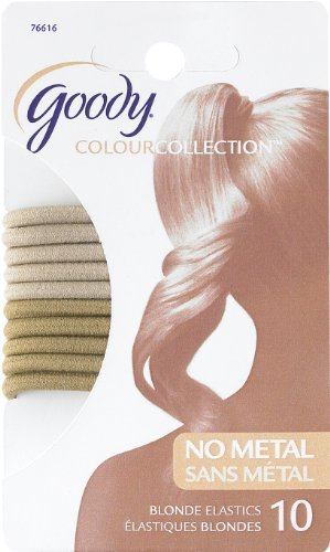 goody-colour-collection-4mm-elastics-blonde-10-count-by-goody-colour-collection