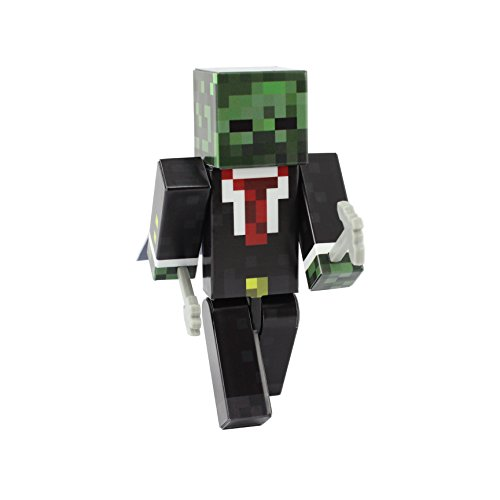 EnderToys Zombie Suit Action Figure by [Producto Oficial De Minecraft]