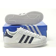 Adidas Superstar Blaue Streifen