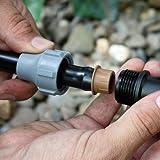 Nutlock Schraubverbinder 16 mm x 3/4 zoll für die Gartenbewässerung