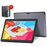 LNMBBS 4G LTE Tablet 10.1 Pollici Android 9.0 Full HD Tablet 4 GB di RAM e 64 GB di Memoria, supporto WiFi GPS Buletooth (Grigio)