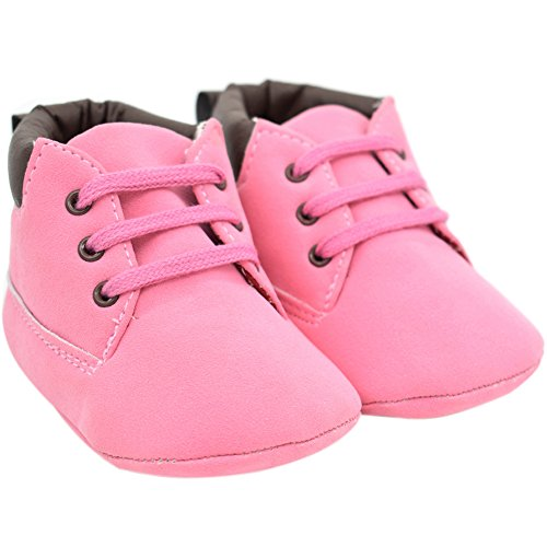 Etrack-Online  Baby Sneakers, Baby Jungen Lauflernschuhe Rose