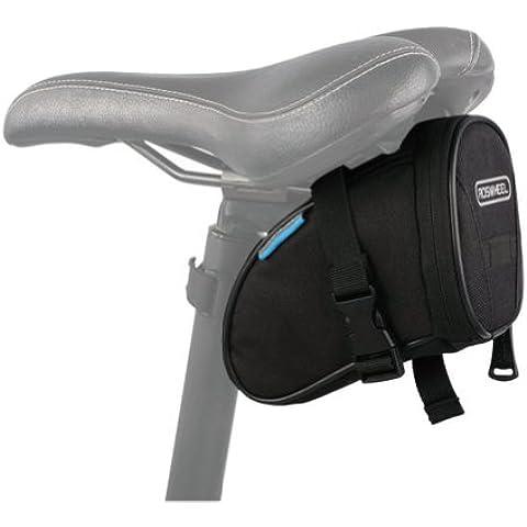 ROSWHEEL multifunzione bicicletta borsa tubo anteriore Telaio bicicletta borsa da sella Pannier Ciclismo Outdoor Sport
