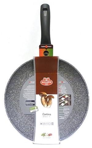 Ballarini Cortina Granitium Frying Pan 1 Handle, Grey, Diameter 32 cm
