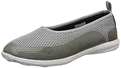 Power Women's Vibe Grey Ballet Flats-3 UK/India (36 EU) (5592048)