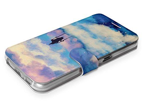 MOBIWEAR Book Style Handy Motiv Tasche Flip Case Cover Hülle für ASUS Zenfone Zoom S ZE553KL - MR09S