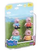 Compongono le tue storie di famiglia del maiale di Peppa con queste figure articolate, che sono compatibili con la gamma di Peppa Pig costruzione. Include; Maiale della mummia, papà Pig, Peppa Pig e George Pig.