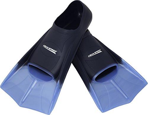 AQUA-SPEED Kurze Trainingsschwimmflossen - Bequeme Flossen Für Das Schwimmtraining - Für Meer Und Pool- #AsTRAINING,...