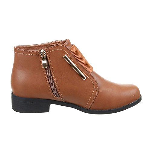 Chaussures bottines, 1921 Marron - Camel