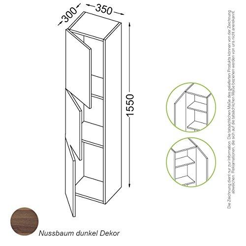 Madrid congelatore 155cm, C020, Destra