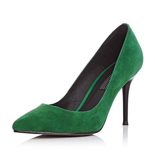 1TO9Mms05667 - Sandali con Zeppa donna Green