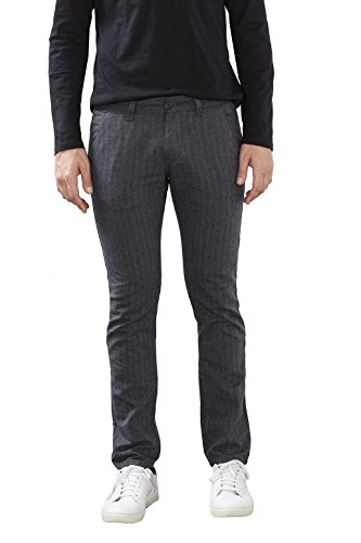 edc by ESPRIT Herren Hose 106CC2B002, Grau (Medium Grey 035), W34/L32