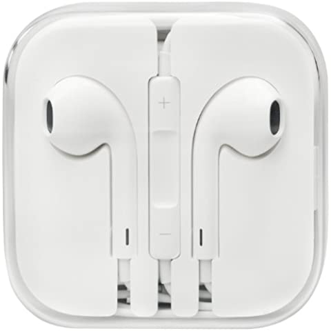 EarPods Apple - Auriculares con mando a distancia y micrófono, en embalaje al por mayor