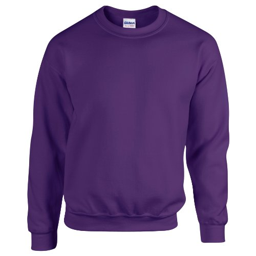 Gildan Herren Sweatshirt Heavy Blend 18000 Purple S