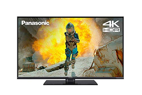 Panasonic TV TX-43FX550B 43-Inch 4K UHD Smart TV HDR with Freeview - 2018 TV| 4k Netflix Streaming & Amazon Fire TV Compatible [Energy Class A] (Refurbished)