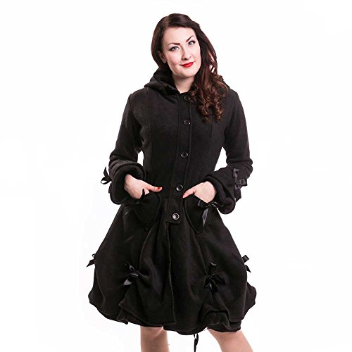 Poizen Industries Alice Coat Cappotto donna nero XL