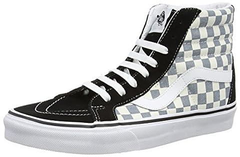 Vans Sk8-hi Reissue, Unisex-Erwachsene Hohe Sneakers, Mehrfarbig (checkerboard/black/citadel), 39
