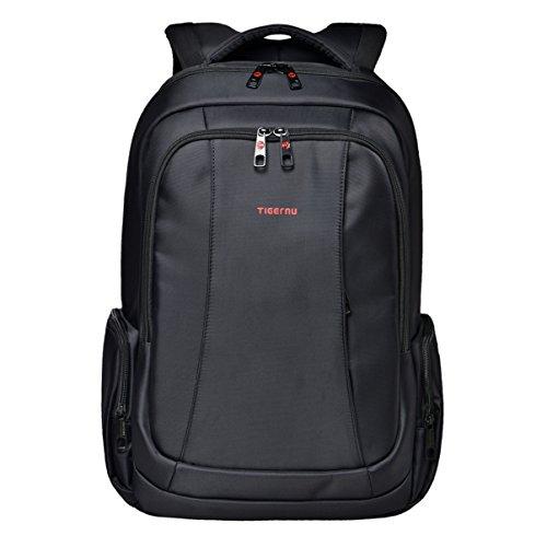 Slotra Laptop Rucksack 12,1-15 Zoll Herren Student Schwarz Business Wasserabweisend Diebstahlschutz
