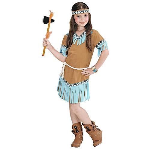 Squaw Indianer Kostüm - Widmann - Kinderkostüm Indianerin