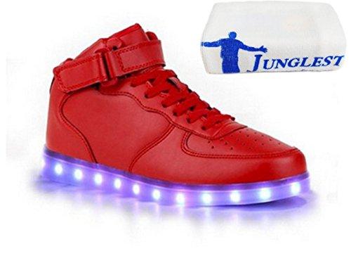 C28 Blink junglest® Turnschuh Led Handtuch lade beleuchtung Schwarz kleines Unisex 7 present schuhe Usb Farbe Ezq67nw