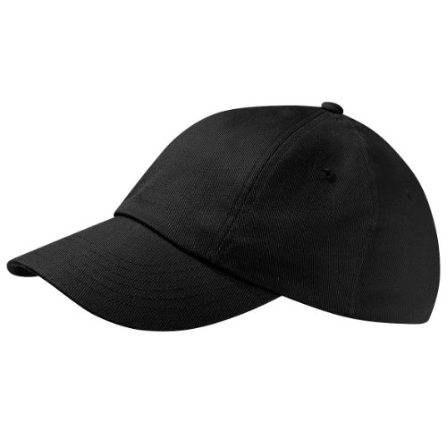 Beechfield Unisex Adults Low Profile Heavy Cotton Drill Cap