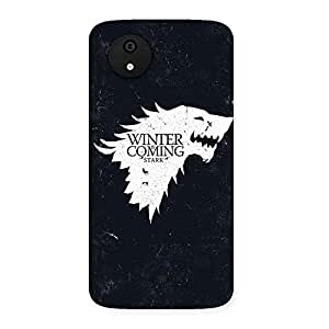 Radiant Thrones And Winter Back Case Cover for Micromax Canvas A1