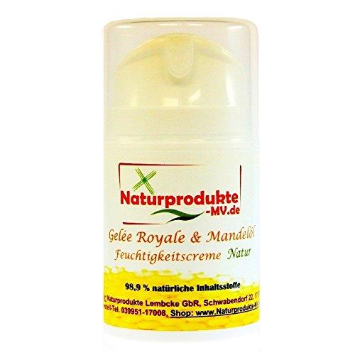 "Gelee Royal & Mandelöl Feuchtigkeitscreme ""NATUR"" (50ml) Gelée Royale Creme"